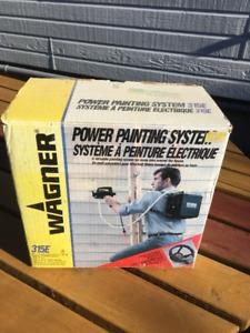 Système à peinture électrique