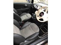 FIAT 500C LOUNGE 1.2L PETROL CONVERTIBLE IN MAUVE PURPLE WITH BLUETOOTH