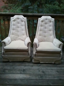 2 Vintage Chairs $80 for both