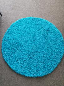 Large circle rug