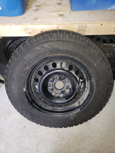winter tires and rims from a 2012 chevy equnoix