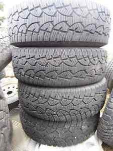 245/75/16 General E Load Winter Tires