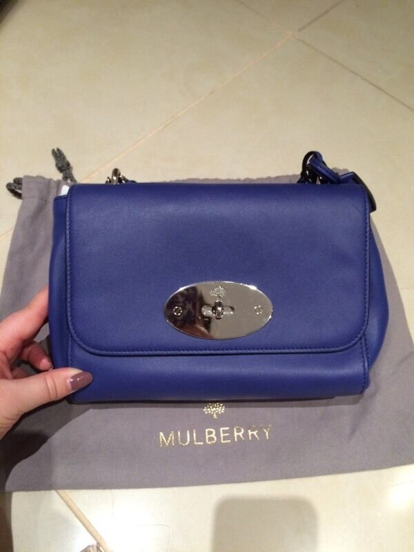 b1eea37178 ... good brand new genuine mulberry lily bag in lamb nappa with tags a57c0  b8334