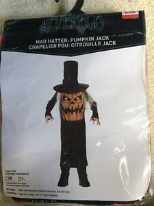 Child's Mat Hatter: Pumpkin Jack Costume