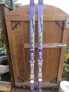 Mens Competition Volki Skis and Poles