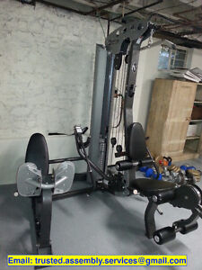 fitness equipment, furniture & BBQ assembly FLAT FEE