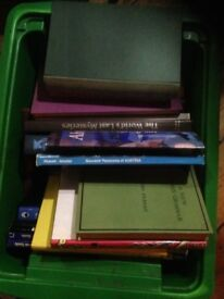4 boxes of Books, mostly non fiction