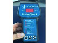 BOWMONK BRAKECHECK SERIES 2 Brake tester