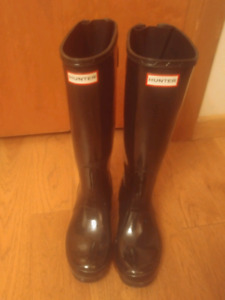 Black Ladies Hunter Boots for Sale