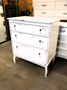 Commode Bureau look Vintage shabby chic French