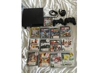 Play station 3 160gb slim version with 13 games