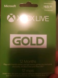 1 year xbox live