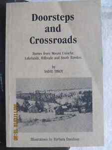 DOORSTEPS AND CROSSROADS by Sadie Siroy