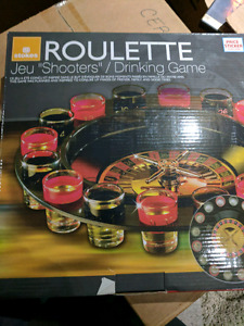 Roulette drinking game