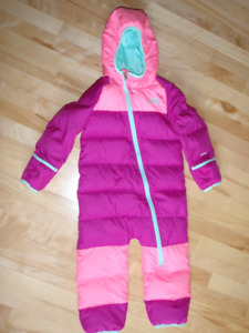 Toddler Down Snow Suit/Bunting (size18-24 months)