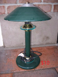 3 table lamps for sale