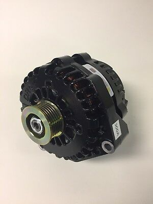 05-13 CHEVROLET TAHOE, ESCALADE, YUKON HI OUTPUT BLACK ALTERNATOR REAL 300 AMP