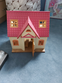 sylvanian house with furniture