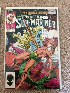 Prince Namor Sub-Mariner - Limited Four Issue Series London Ontario image 3