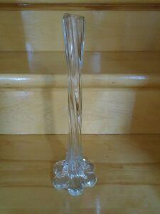 vase à fleurs en verre style moderne