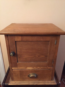 Small antique pantry cupboard