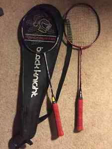Great Badminton Rackets with Case!