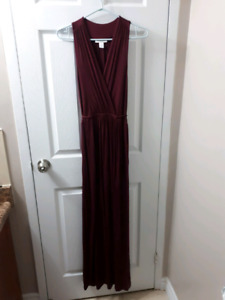 Floor Length Maternity Dress