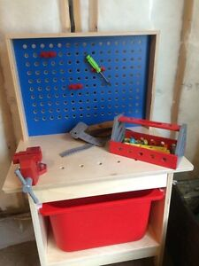 Kids Tool Play Station- great condition