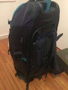 Kathmandu Hybrid 70L Backpack / Trolley Bag Kingston Kingston Area image 3