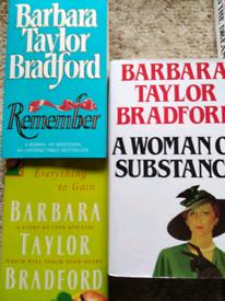 5 X Barbara Taylor Bradford novel book bundle