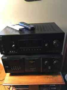 Sony AV receiver STR-DG710 and Compact Disc Player CDP-CX355 300