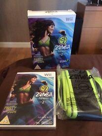 Zumba Fitness 2 with belt