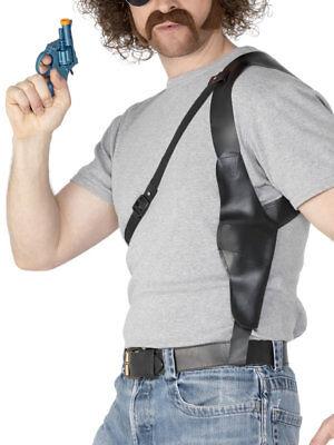 Gangster Gun Holster Police Officer Mens Ladies Gun - Fancy Dress Gun Holster