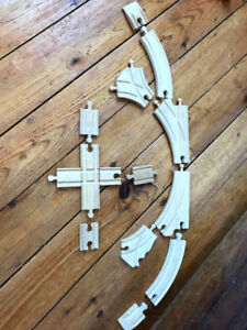 Wooden Train Track for 'Thomas' Trains