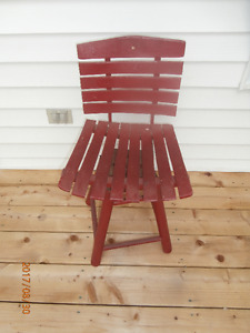 ANTIQUE OAK CHILD'S SWIVEL CHAIR Very Unique New Low Price