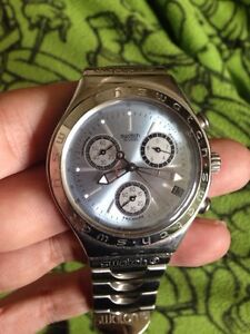 Swatch irony mens chronograph watch 1993