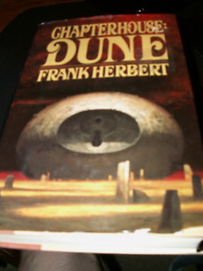 Chapterhouse: Dune by Frank Herbert Hardcover book - Good Condit