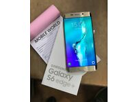 Samsung galaxy s6 edge plus Gold unlocked with warranty Work any sim