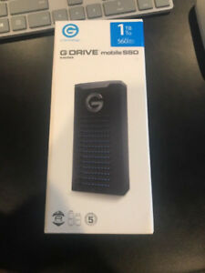 G-Technology 1 TB G-Drive Mobile SSD Drive