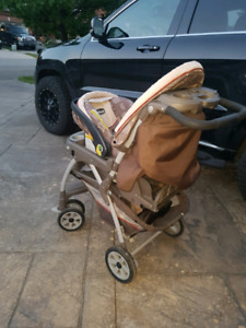 Chicco stroller with click connect car seat