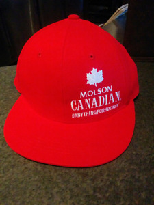 """Anything for Hockey"" Molson Canadian Snapback"