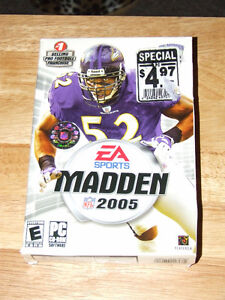 EA Sports Madden NFL 2005 - NEW / SEALED - $4.00