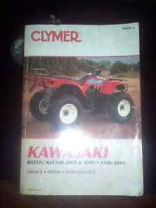 2 BOOKS ATV REPAIR MANUAL