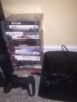 PS3 500GB with 19 games