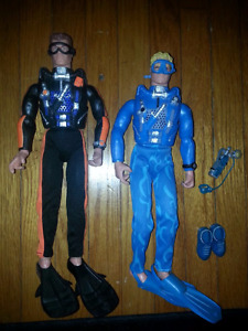 G.I. JOE DOLLS AND ACCESSORIES - MAKE NICE GIFT