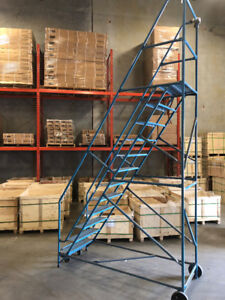 12 step Industrial Warehouse Ladder