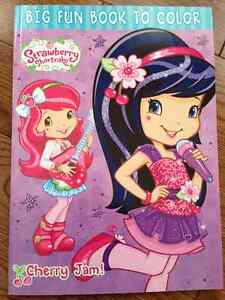 Strawberry Shortcake Big Fun Coloring Books Kitchener / Waterloo Kitchener Area image 2