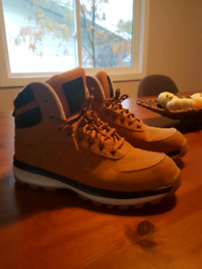 Adidas suede boots size 10. Brand new