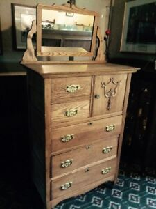 Antique High Boy Dresser