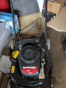 Lawn Mower YardWorks Gas For Parts $45